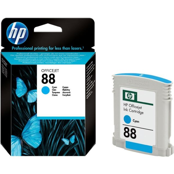 Tinte HP 88 cyan blau C9386AE für ca. 860 Seiten original