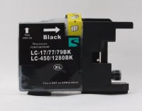 Tinte Brother LC1280BK XXL LC-450/LC-17/LC-77/LC-79BK...
