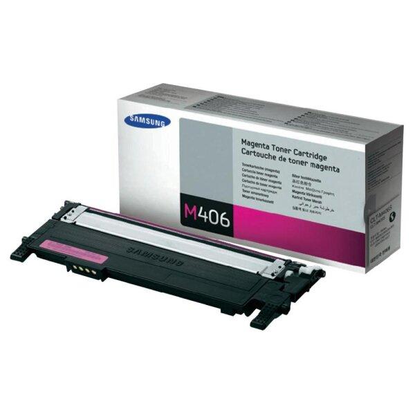 Toner Samsung CLT-M406S magenta 1000 Seiten original