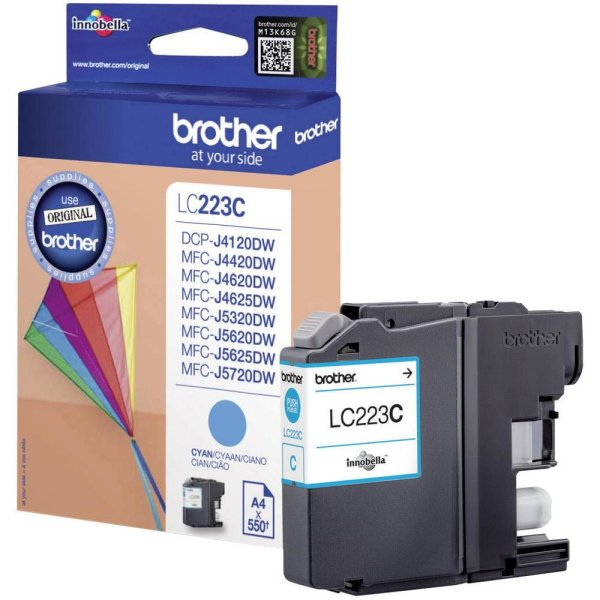 Tinte Brother LC - 223C blau