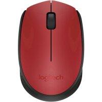 Maus Logitech Wireless M171 rot