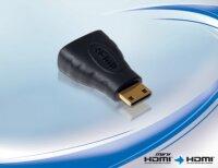 Adapter HDMI Buchse - HDMI Mini C Stecker