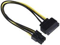 Adapterkabel SATA 15pin -> 6pin PCI Express | 20cm