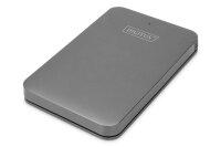 "Gehäuse 2.5"" SSD/HDD SATA 3 - USB 3.0 Aluminium"