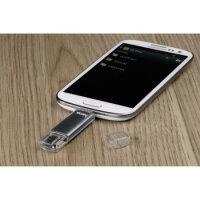 USB Stick 32GB 2-in-1 Micro und USB-A Hama Laeta Twin USB...
