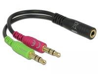 Adapter 3,5mm Klinke Buchse -> 2x 3,5mm Klinke Stecker