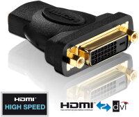 Adapter HDMI Buchse <> DVI-D Buchse