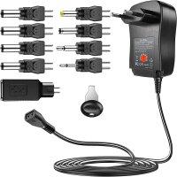 Netzteil Universal Adapter 3-12V / 2250mAh inkl. 9 Adapter