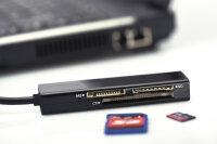 Card Reader extern Ednet 4-in-1 USB 2.0
