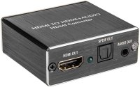 Adapter HDMI zu HDMI mit SPDIF od. 3,5mm Klinke
