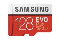 Speicherkarte Micro SDXC 128GB + SD Adapter Samsung Evo...