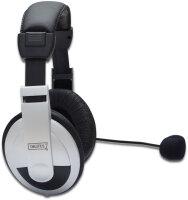 Headset Digitus Multimedia 2x 3,5mm Stereobuchsen