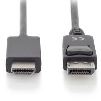 Kabel Displayport <> HDMI 4K/60Hz 1m