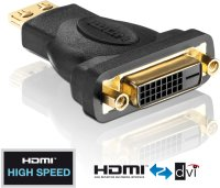 Adapter HDMI ST <-> DVI-D BU