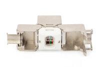 CAT 6A Keystone Modul, werkzeugfreier Montageanschluss