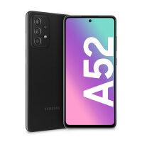 Handy Samsung Galaxy A52 schwarz, LTE 128/6 ohne Branding...