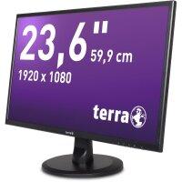 "TFT Terra 23,6""/59,9cm Full-HD, HDMI/DVI, Lautsprecher *gebraucht*"