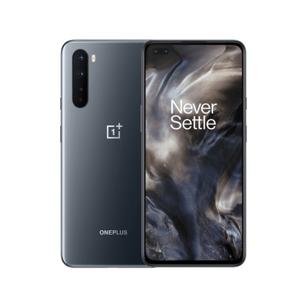 Handy OnePlus Nord grau, 5G 128/8 ohne Branding   fertig eingerichtet