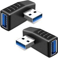Adapter USB-A 3.0 Winkelstecker links