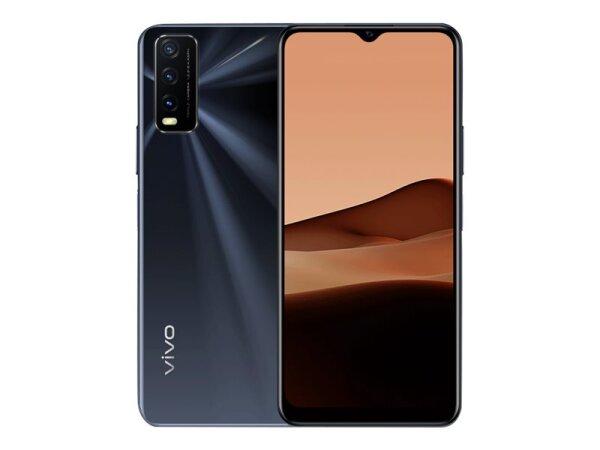 Handy Vivo Y20s schwarz, 128/4 ohne Branding | fertig eingerichtet