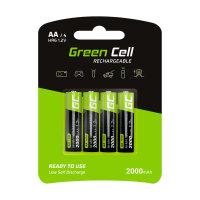 AKKU GreenCell 4er 2000mAh/1,2V AA