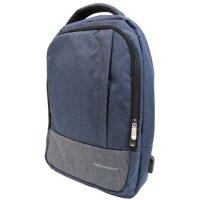 """Notebooktasche 15,6"""" Backpack, blau"""
