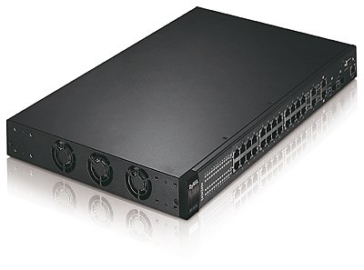 Switch ZyXEL Dimension ES-3124, 24-Port, managed, Layer 2+, gebraucht