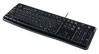Tastatur Logitech Keyboard K120 for Busi.Win10[DE]black